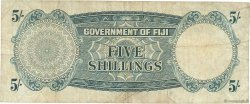 5 Shillings FIDJI  1961 P.051b TB