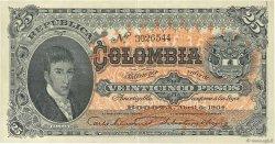 25 Pesos COLOMBIE  1904 P.313 SUP