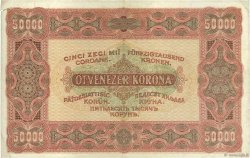 50000 Korona HONGRIE  1923 P.071a TTB