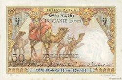 50 Francs DJIBOUTI  1952 P.25 pr.SPL