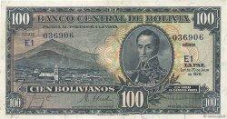 100 Bolivianos BOLIVIE  1928 P.133 SUP+