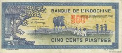500 Piastres bleu INDOCHINE FRANÇAISE  1944 P.068 TTB