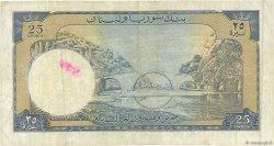 25 Livres LIBAN  1952 P.58a TB