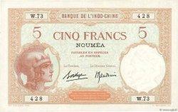 5 Francs NOUVELLE CALÉDONIE  1940 P.36b SUP
