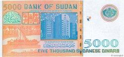5000 Dinars SOUDAN  2002 P.63 NEUF