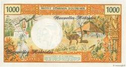 1000 Francs type 1968 modifié 1970 NOUVELLES HÉBRIDES  1975 P.20b NEUF