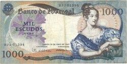 1000 Escudos PORTUGAL  1967 P.172a TB+