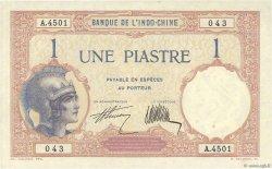 1 Piastre INDOCHINE FRANÇAISE  1927 P.048b pr.SUP