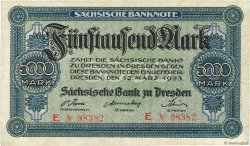 5000 Mark ALLEMAGNE  1923 PS.0957 TTB+