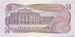 50 Schilling AUTRICHE  1970 P.144a SPL