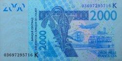 2000 Francs SÉNÉGAL  2003 P.716Ka NEUF