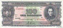 100 Bolivianos BOLIVIE  1945 P.142 pr.NEUF