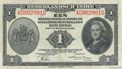 1 Gulden INDES NEERLANDAISES  1943 P.111a TTB+