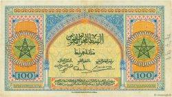 100 Francs type 1943 MAROC  1943 P.27a TTB
