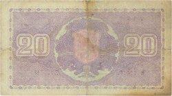 20 Markkaa FINLANDE  1939 P.071a TB