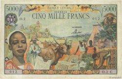 5000 Francs type 1962 CONGO  1962 P.06c pr.TTB