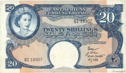 20 Shillings AFRIQUE DE L