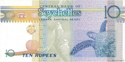 10 Rupees SEYCHELLES  1998 P.36 SUP