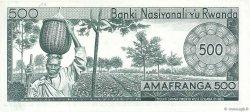 500 Francs RWANDA  1974 P.11a NEUF