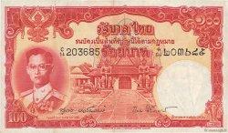 100 Baht THAÏLANDE  1955 P.078d TTB+