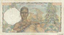 1000 Francs AFRIQUE OCCIDENTALE FRANÇAISE (1895-1958)  1948 P.42 TB