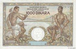 1000 Dinara YOUGOSLAVIE  1935 P.033 SPL+