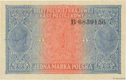1 Marka POLOGNE  1917 P.008 SUP