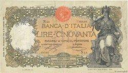 50 Lire ITALIE  1916 P.043a TB+