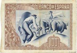 100 Pesetas ESPAGNE  1937 PS.565a TTB