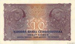 10 Korun TCHÉCOSLOVAQUIE  1927 P.020a pr.NEUF