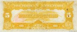 5 Pesos PHILIPPINES  1936 P.083a SUP