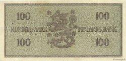 100 Markkaa FINLANDE  1955 P.091a TTB+