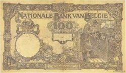 100 Francs BELGIQUE  1924 P.095 TTB+