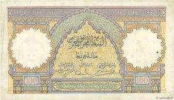 100 Francs MAROC  1938 P.20 pr.TTB