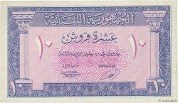 10 Piastres LIBAN  1950 P.47 SUP