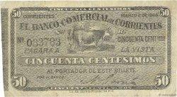 50 Centesimos ARGENTINE  1868 PS.1583 pr.TB