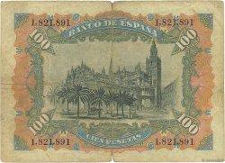 100 Pesetas ESPAGNE  1907 P.064a pr.TB