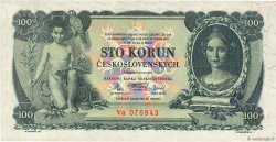100 Korun TCHÉCOSLOVAQUIE  1931 P.023a TTB