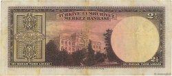 2,5 Lira TURQUIE  1947 P.140 TB