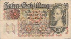 10 Schilling AUTRICHE  1946 P.122 TB