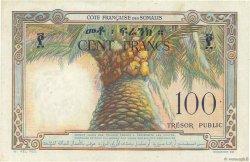 100 Francs DJIBOUTI  1952 P.26 pr.SUP