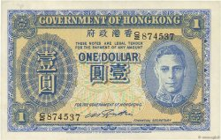 1 Dollar HONG KONG  1941 P.316 SUP+