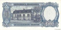 500 Pesos ARGENTINE  1964 P.278a SUP