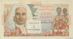 1 NF sur 100 Francs GUYANE  1961 P.29 TTB+
