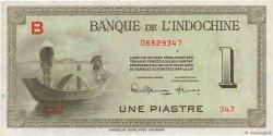 1 Piastre INDOCHINE FRANÇAISE  1945 P.076a NEUF