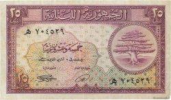 25 Piastres LIBAN  1950 P.42 TTB