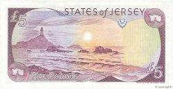 5 Pounds JERSEY  1989 P.16a pr.NEUF