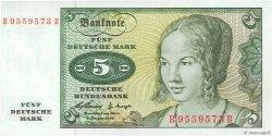 5 Deutsche Mark ALLEMAGNE  1960 P.018a NEUF