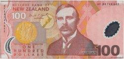 100 Dollars NOUVELLE-ZÉLANDE  1999 P.189a pr.SPL