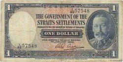 1 Dollar MALAISIE - ÉTABLISSEMENTS DES DÉTROITS  1935 P.16b pr.TTB